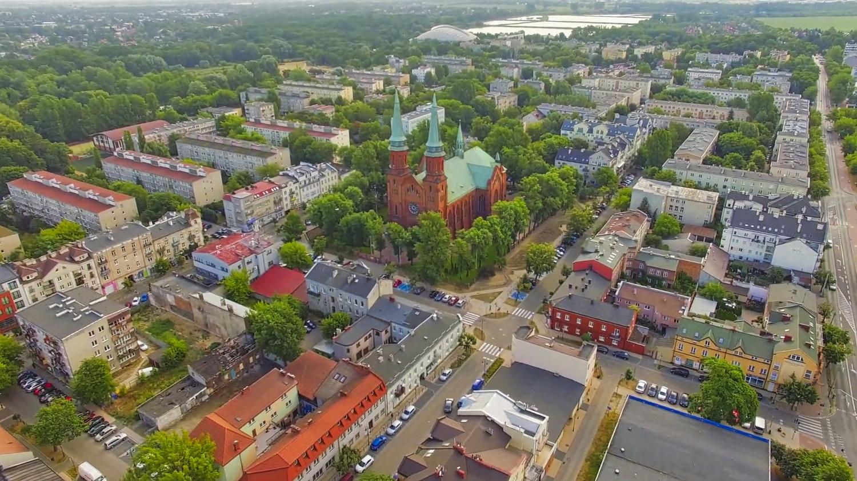 Centrum miasta Pruszkowa